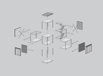 construcción modular con madera